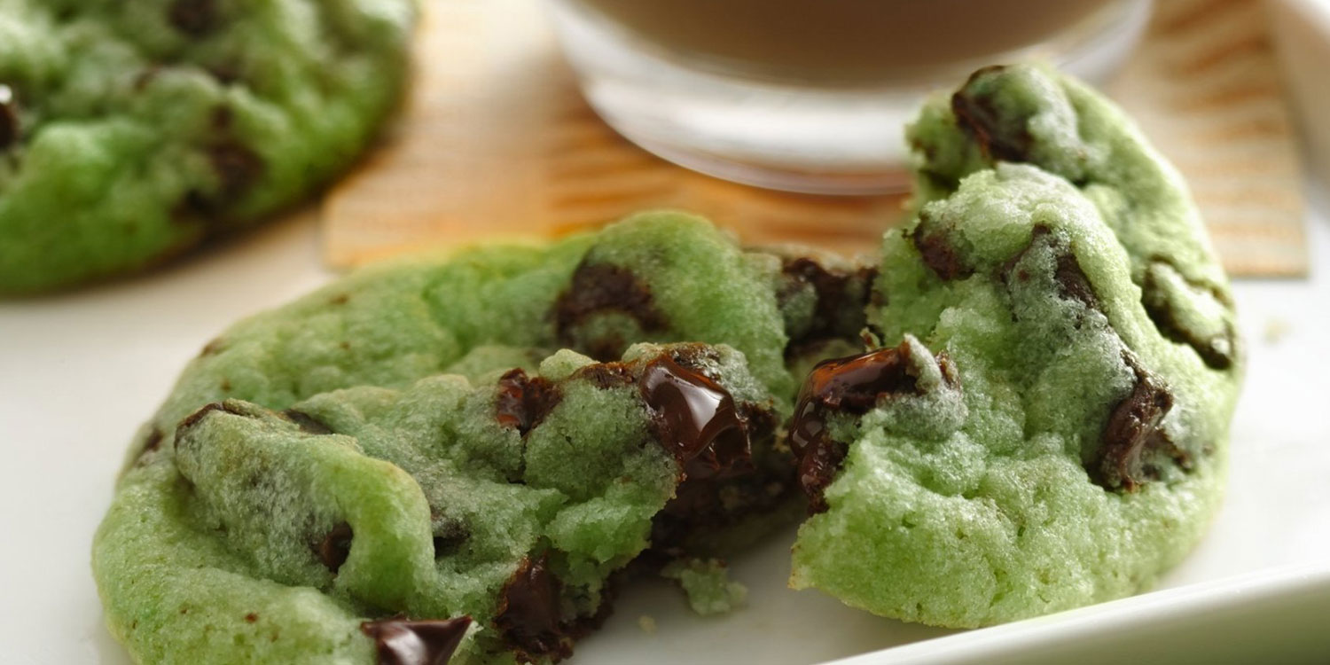 Mint Chocolate Chip Cookies Pinterest - More information ...