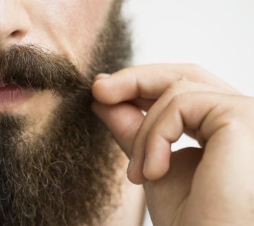 Bacteria-Fighting Beards